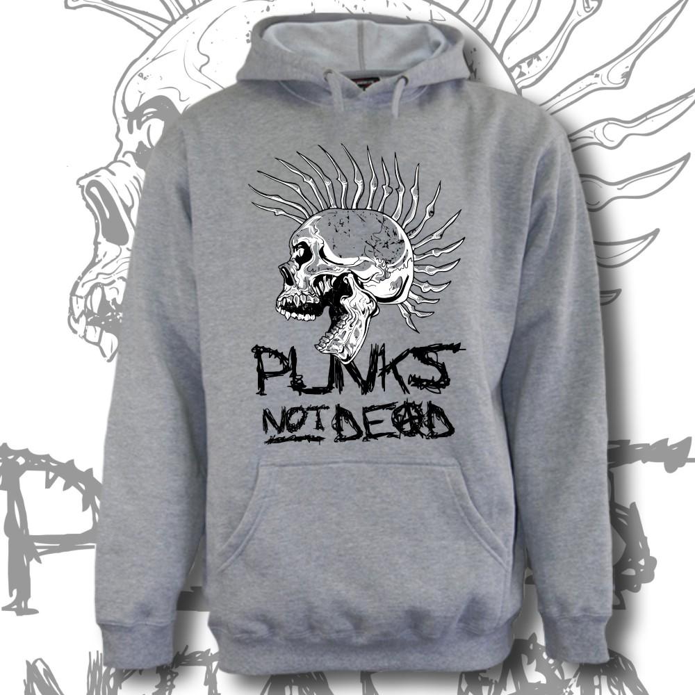 93449c7cad2 Mikina pánská punk klokanka