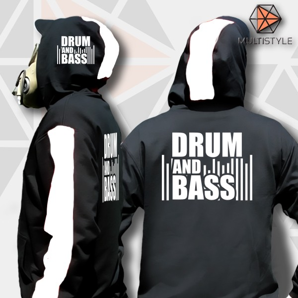 Mikina zip drum and bass