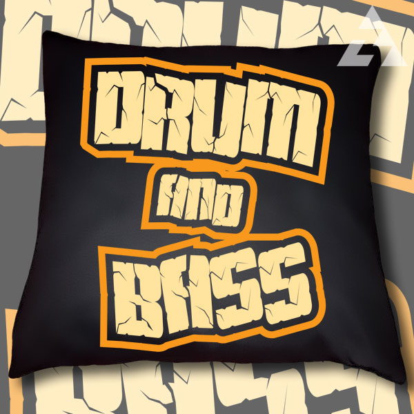 Polštář DRUM AND BASS
