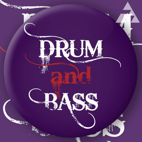 Placka DRUM AND BASS