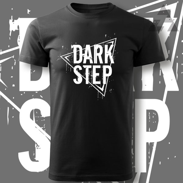 Tričko drum and bass pánské DARK STEP