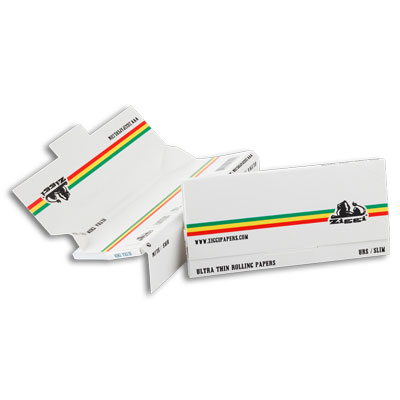Cigaretové papírky Ziggi URS Slim Ultra thin White/Stripe KS + Filters